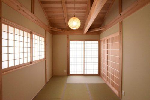 白川渡村営住宅(平屋)和室