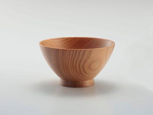 吉野杉の茶碗