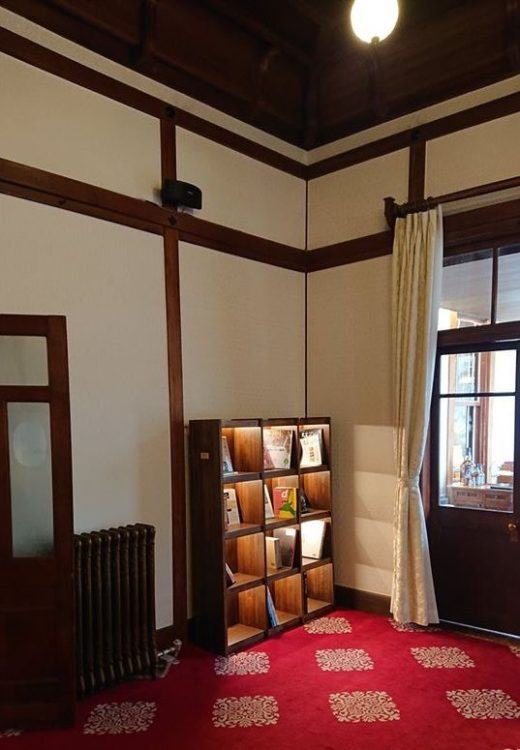 奈良ホテルマガジンラック3