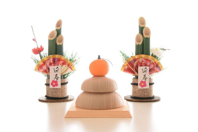 吉野杉の鏡餅