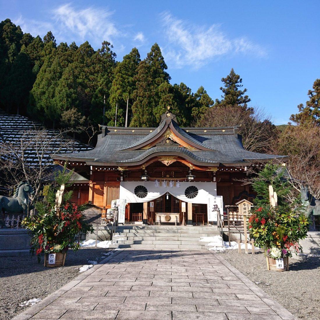 丹生川上神社上社初詣